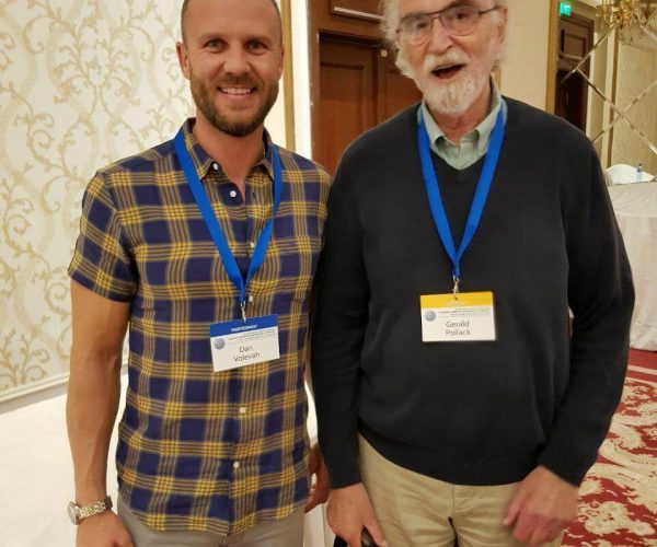 With Profesor Gerald Pollack. One of the world's top scientists who discovered 4th phase of water.