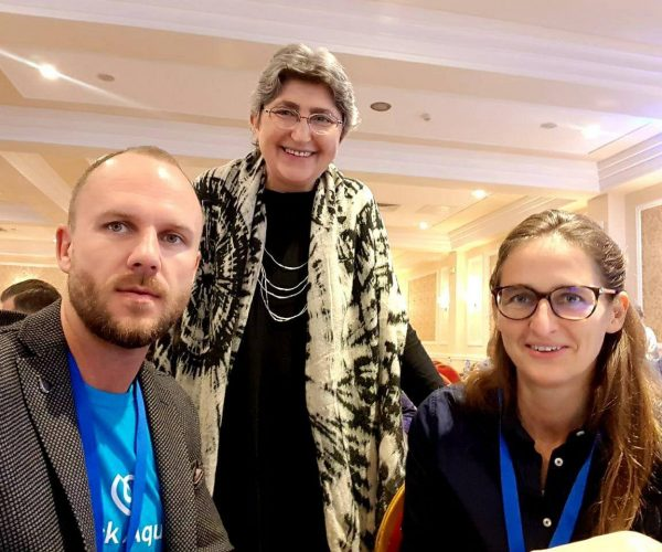 With Professor Roumiana Tsenkova from Kobe University and Dr. Everine Van De Kraats.  Great scientists that are searching the answers in water depending on the spectral light combinations